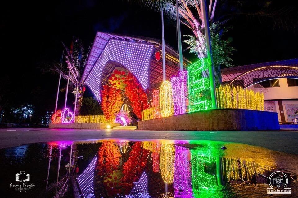 Lễ hội hoa và ánh sáng tại Quảng Ninh gate