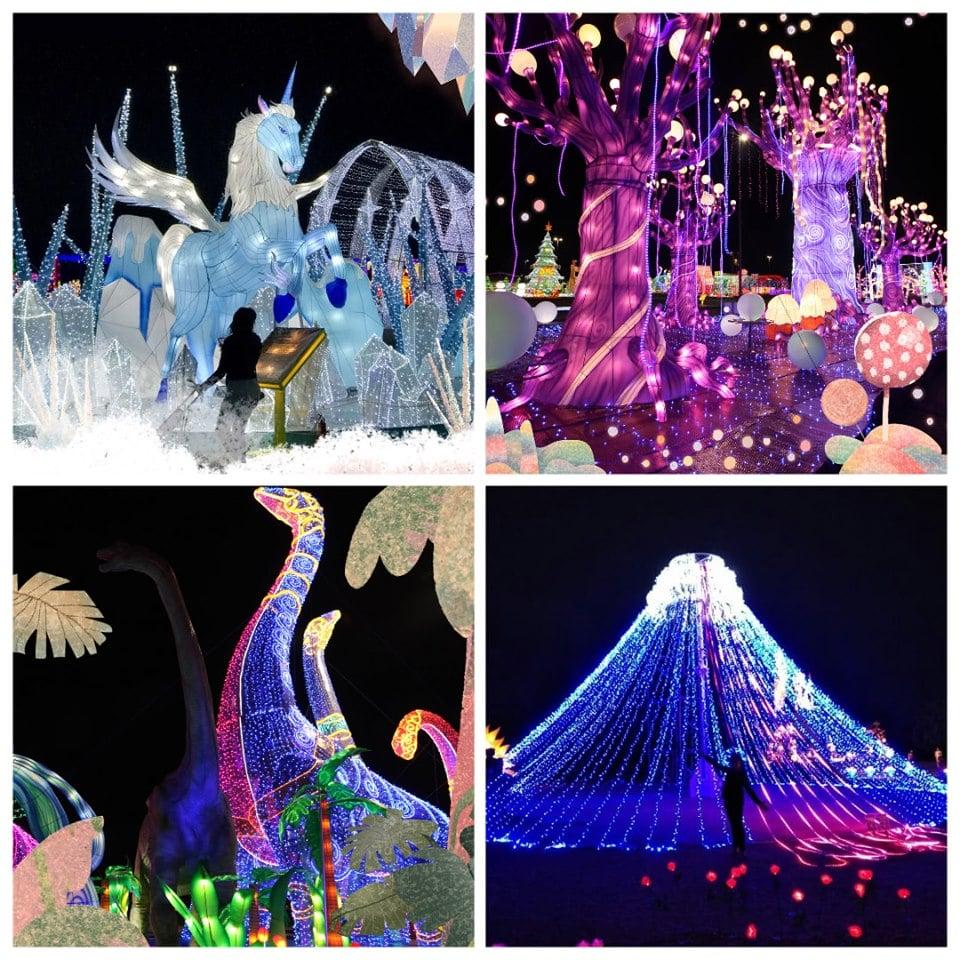 lễ hội ánh sáng tại Cẩm Phả