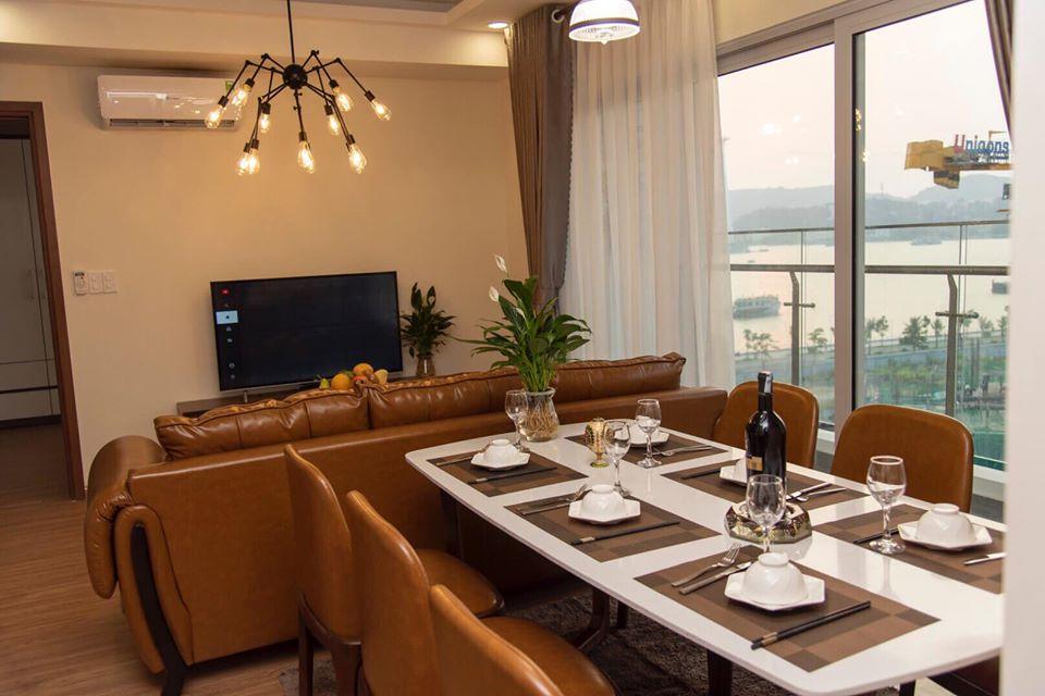 Phòng ăn tại shapprie viewsea hạ long