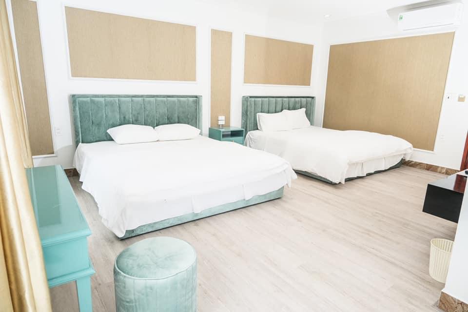 phòng ngủ đôi memory homestay villa hạ long