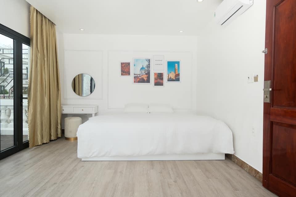 phòng ngủ memory homestay villa hạ long