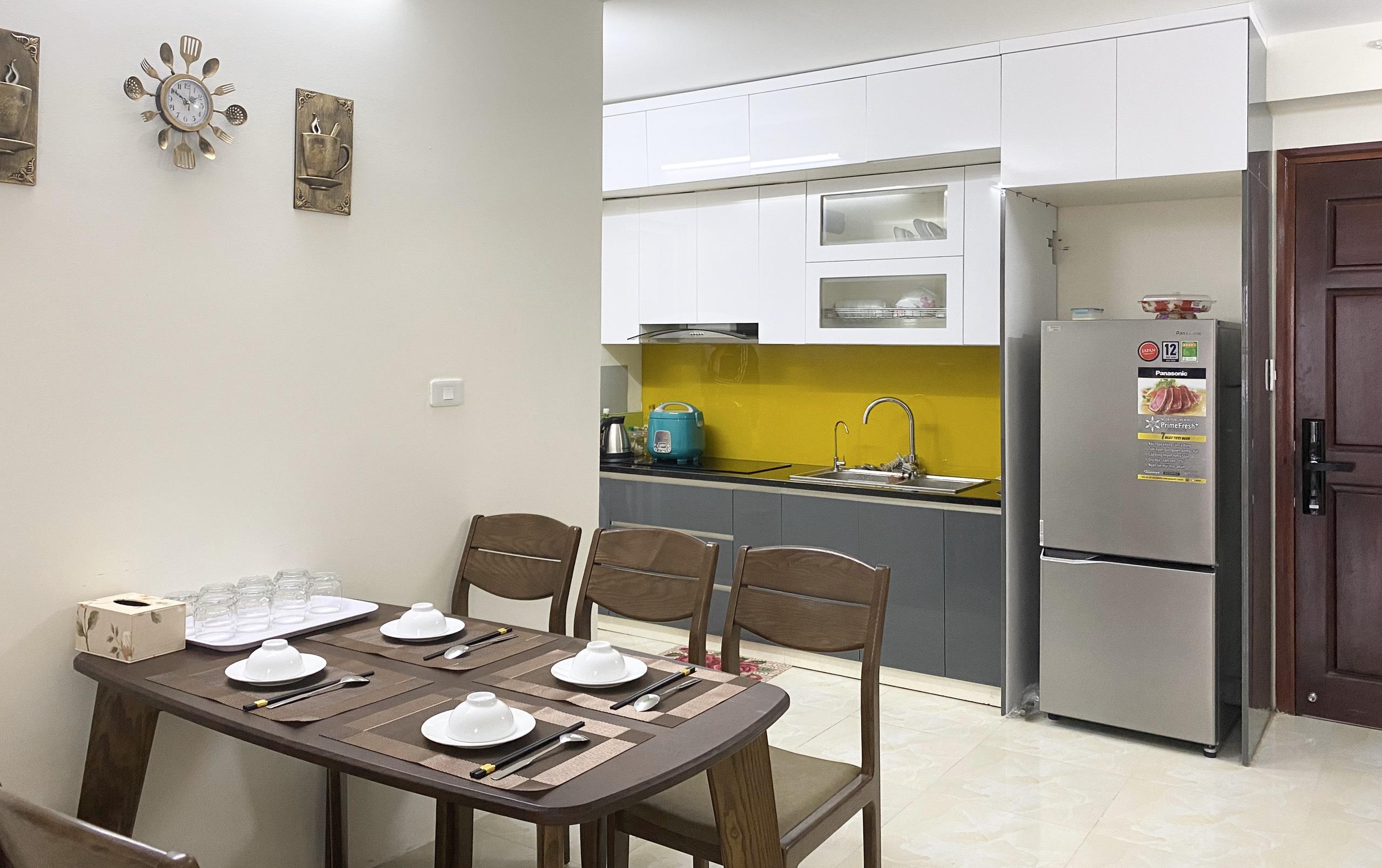 Phòng ăn căn hộ 910