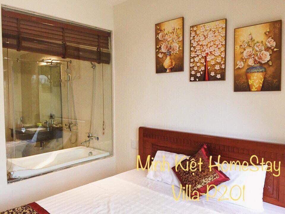 phòng ngủ villa