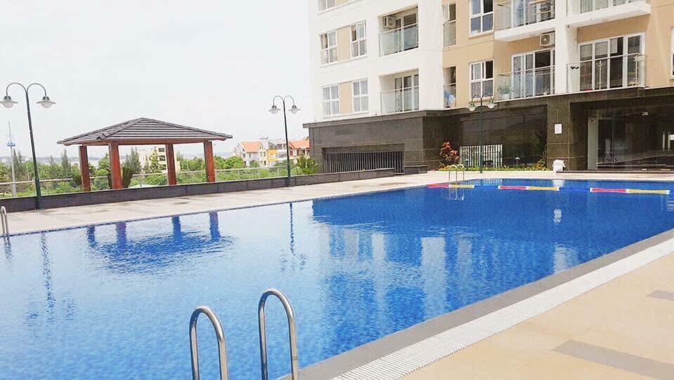 Bể bơi của căn hộ 2611A newlife