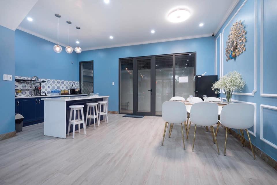 phòng ăn của memory villa
