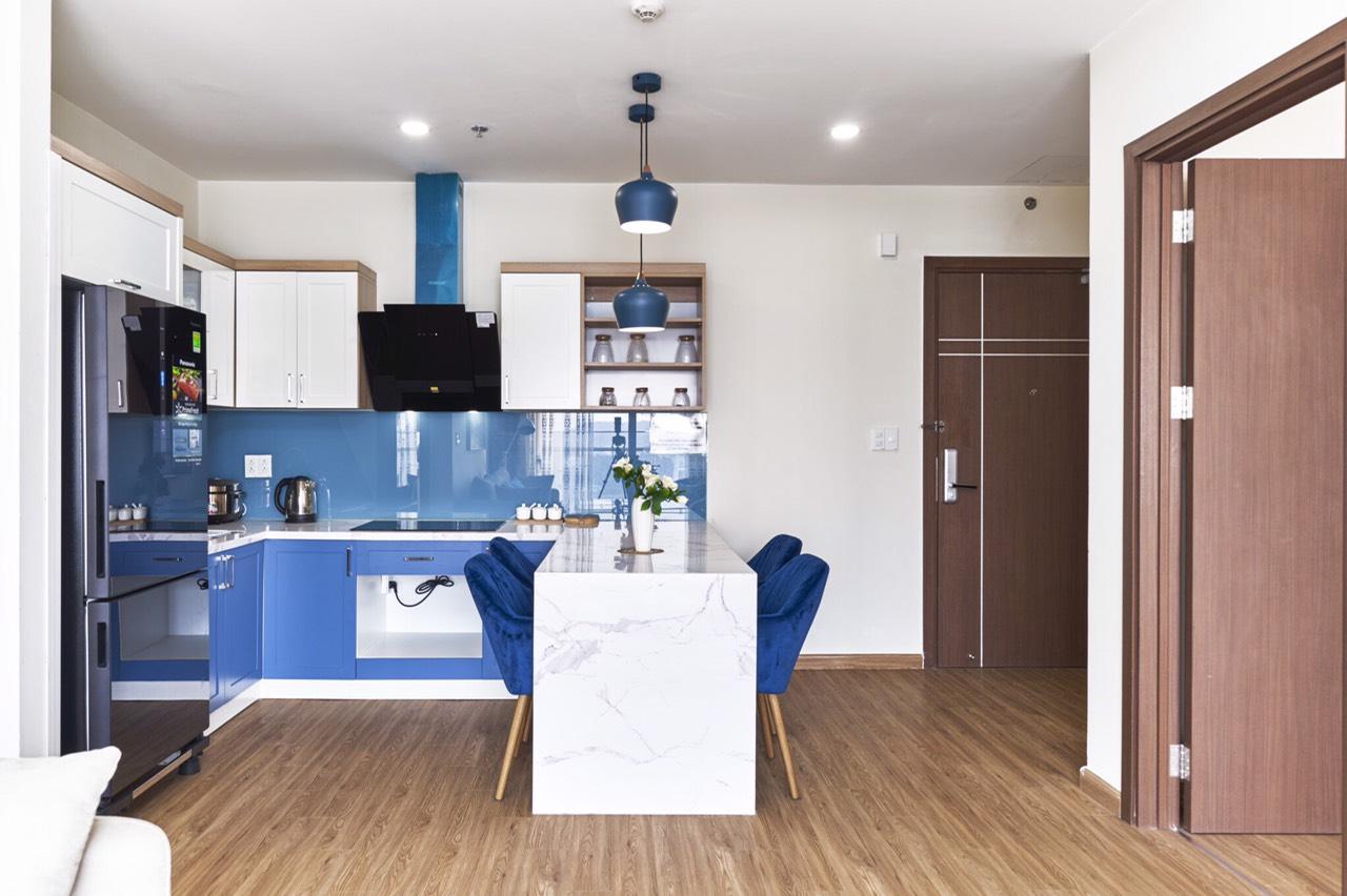 phòng ăn căn homestay 2808 the Sapphire