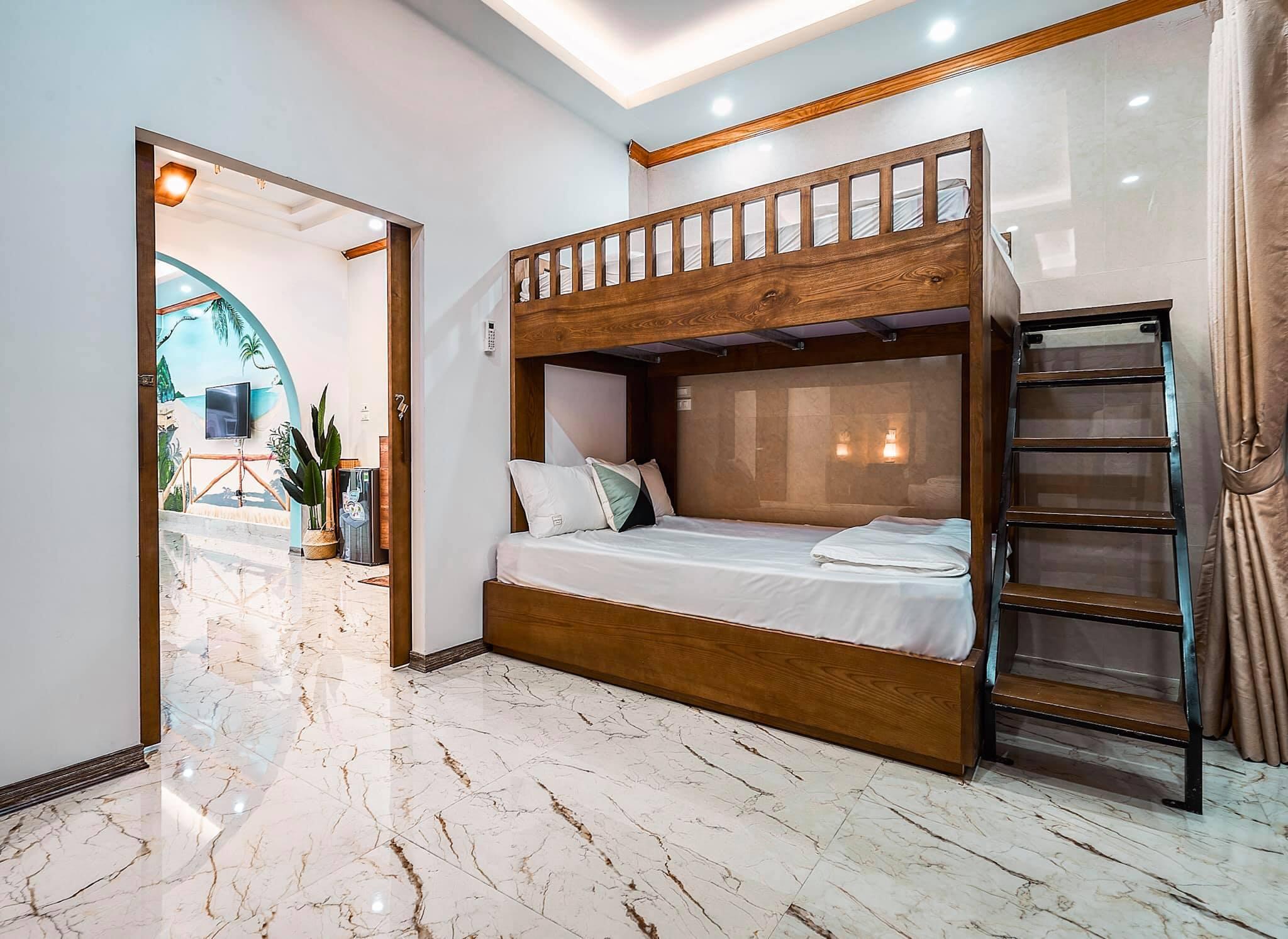 Phong dorm tai Villa Mercerus