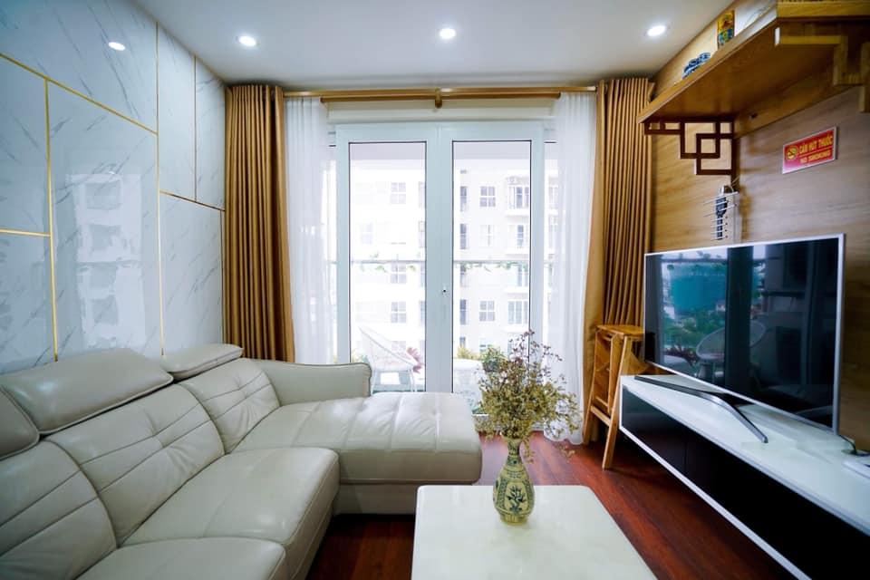 Phòng khách hộ homestay 709 Newlife tower