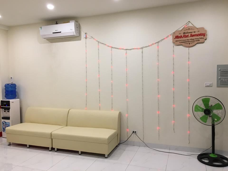 phòng khách căn hộ villa