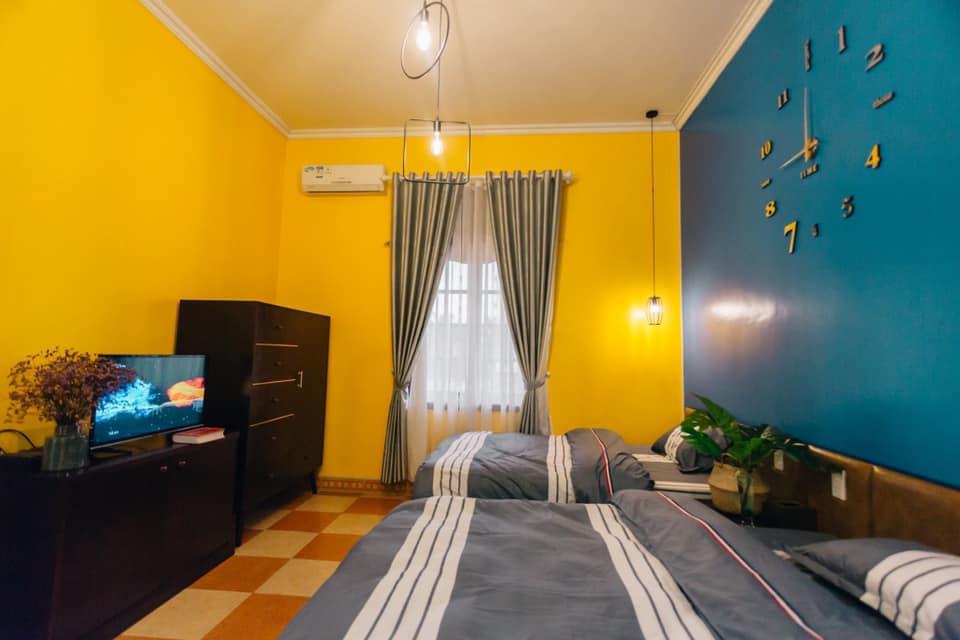 phòng ngủ số 2 cua biệt thự 1900