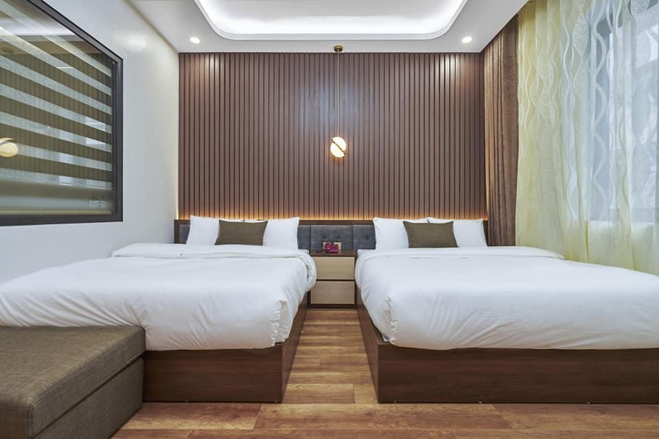 phòng ngủ số 2 của phòng BBQ Hostel Villa Hạ Long