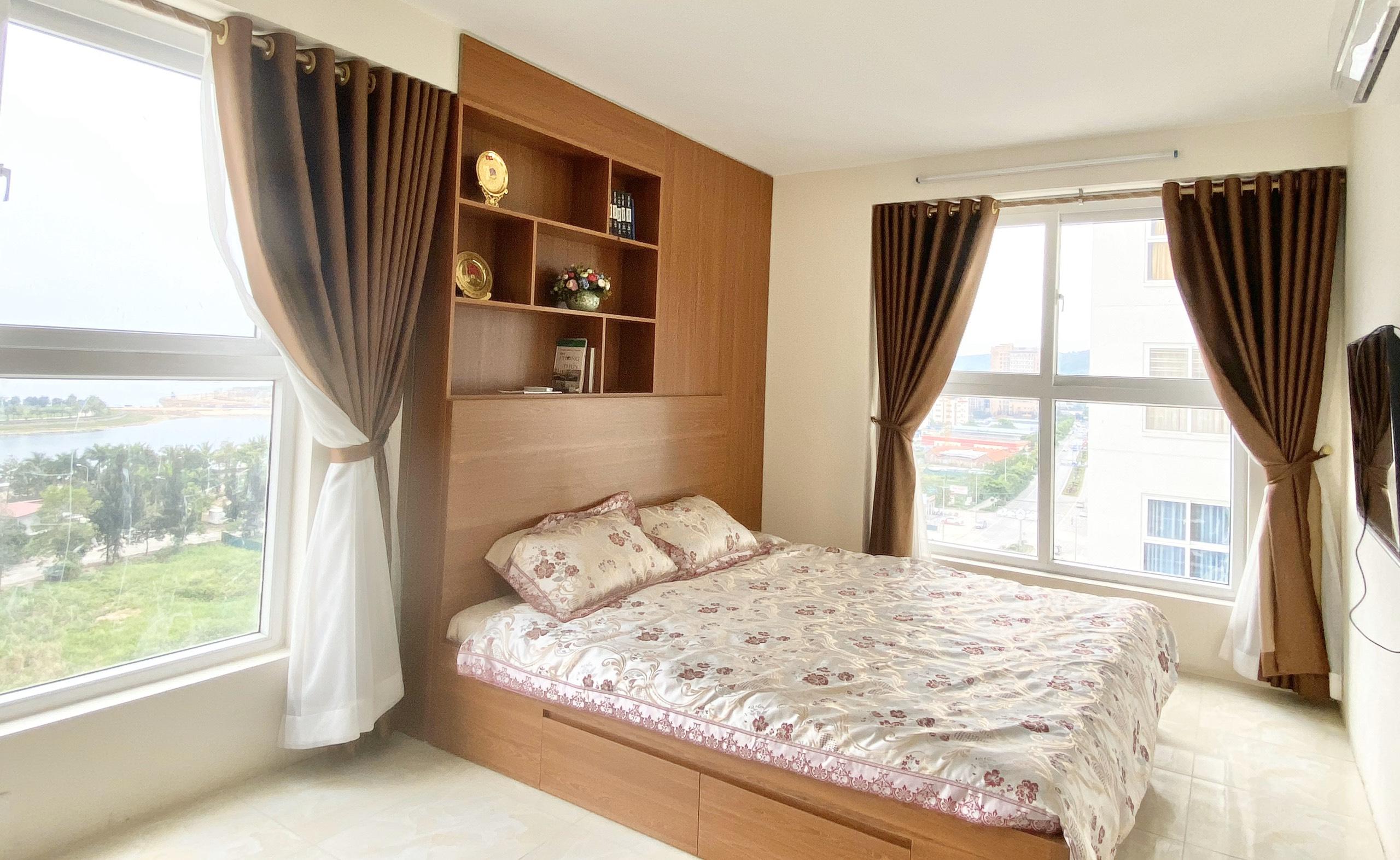 Phòng ngủ căn hộ 910