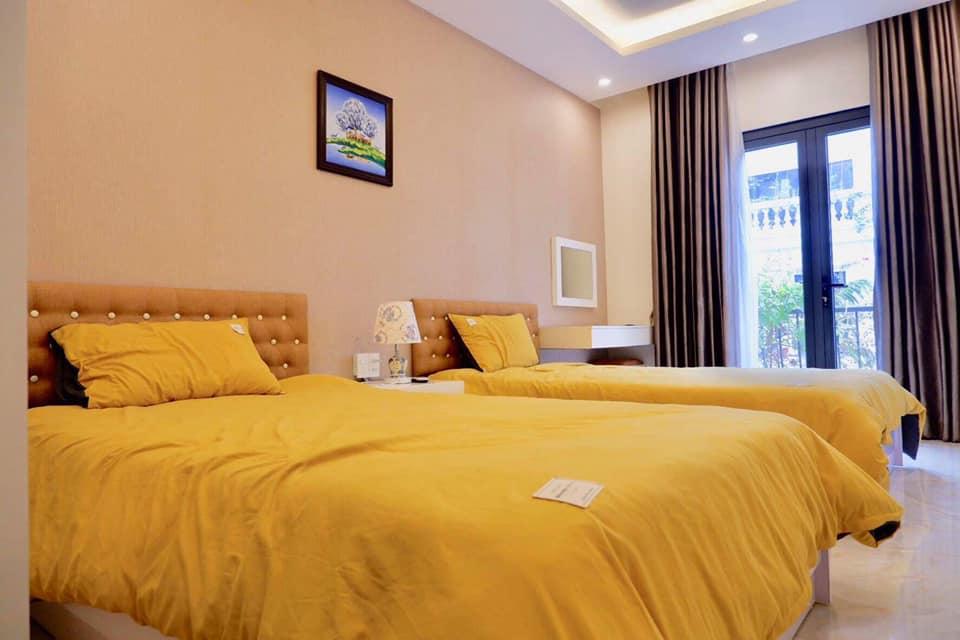 phòng ngủ số 2 của villa