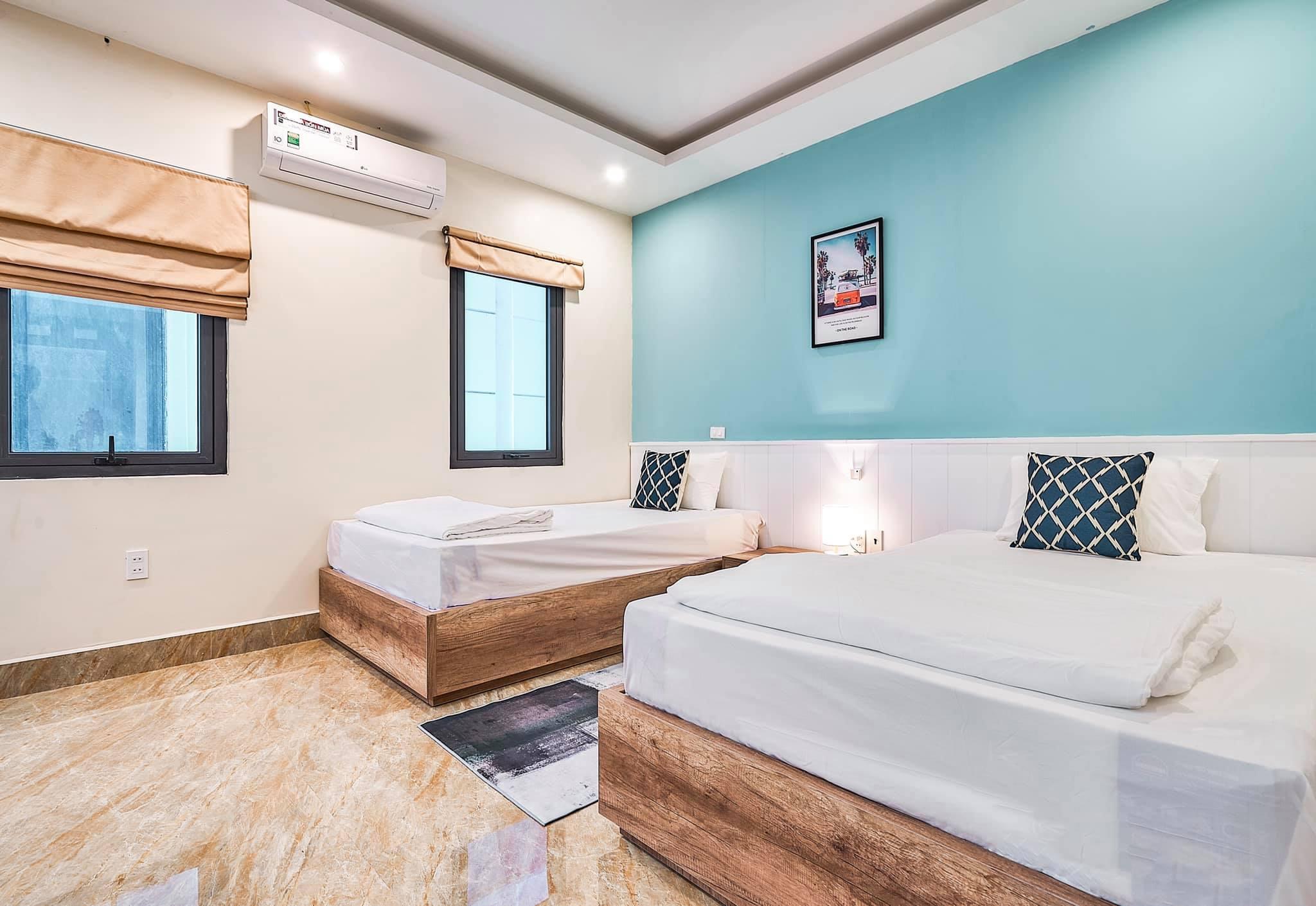 phòng ngủ tại Villa Mercerus