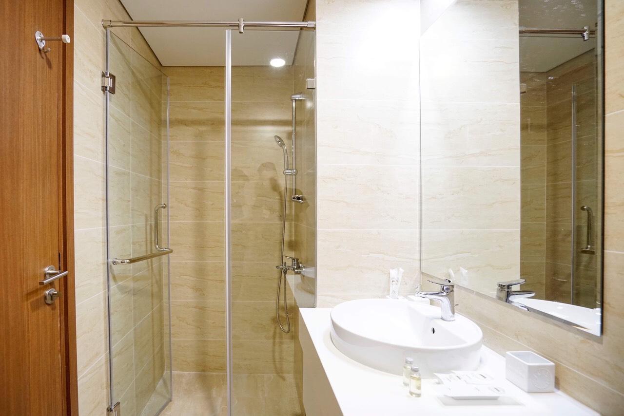 phòng tắm căn homestay 2010 the Sapphire