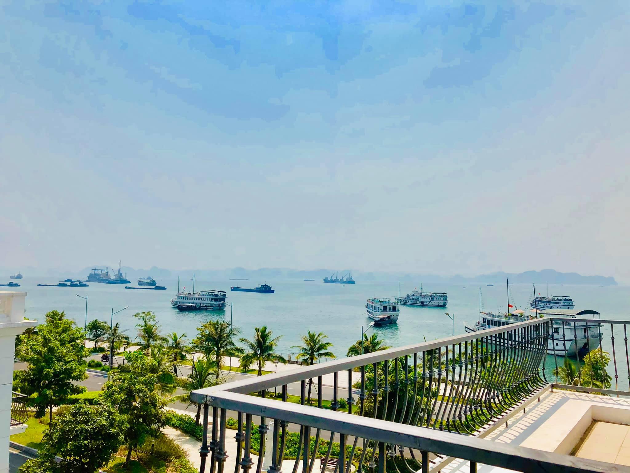 View biển từ Villa Mercerus