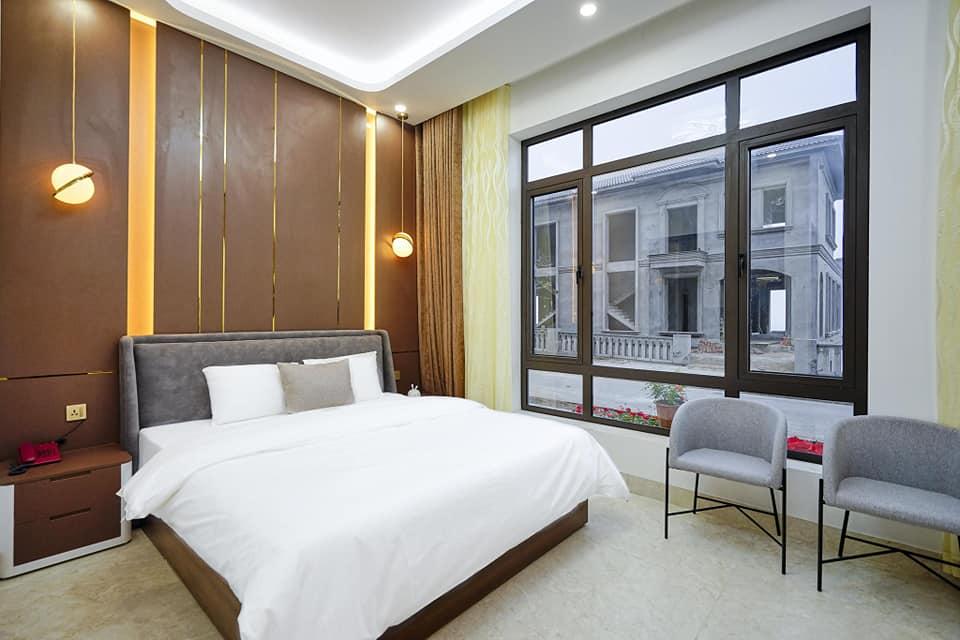 view từ phòng ngủ BBQ Hostel Villa Hạ Long