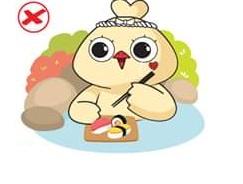 không mang đồ ăn khi tắm onsen