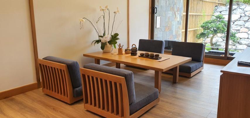 phòng trà Washitsu Itachi Onsen quang hanh