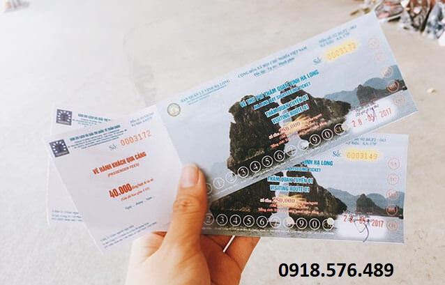 Vé thăm quan VỊnh Hạ Long