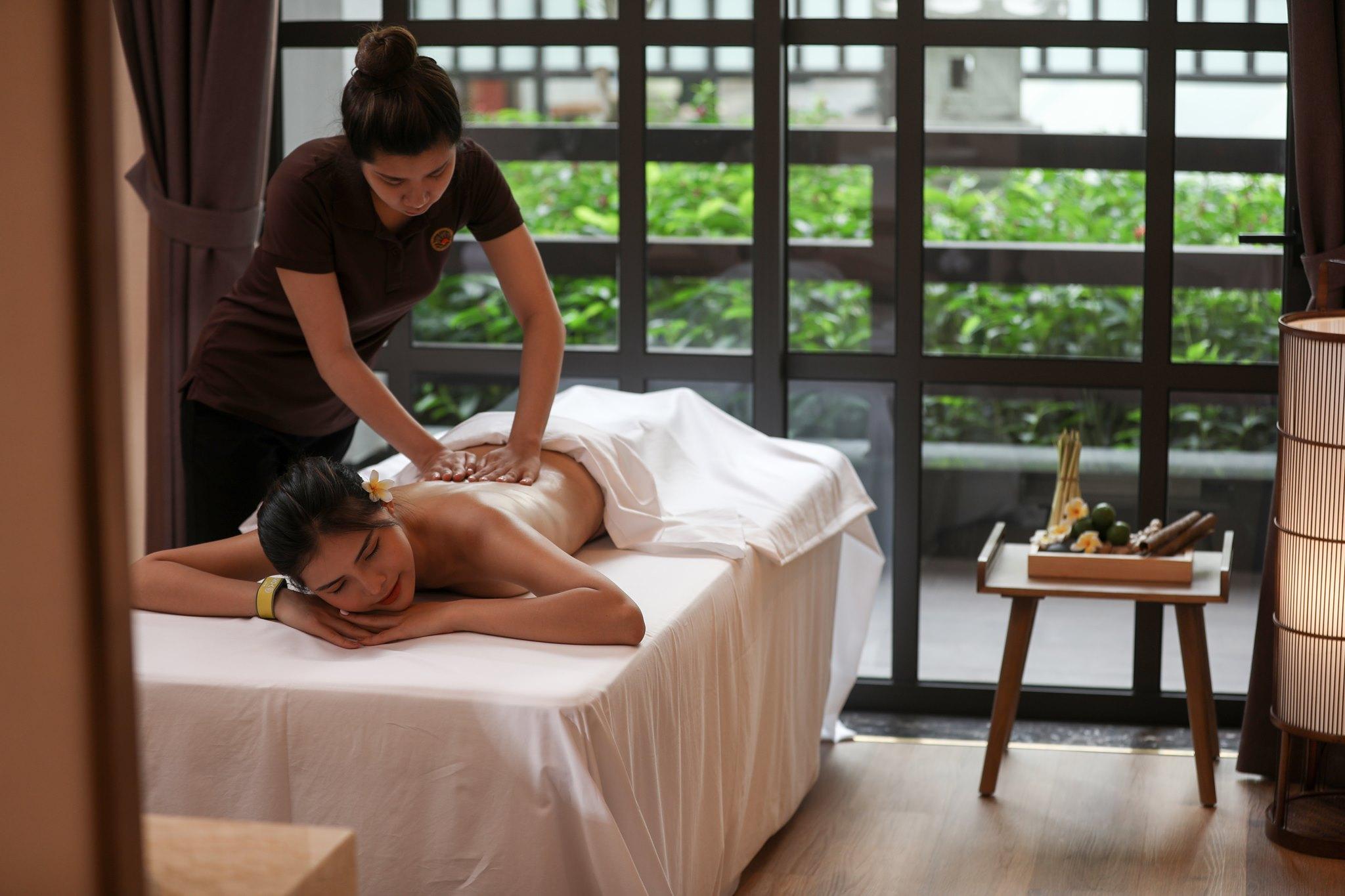 Massage tại Yoko Onsen