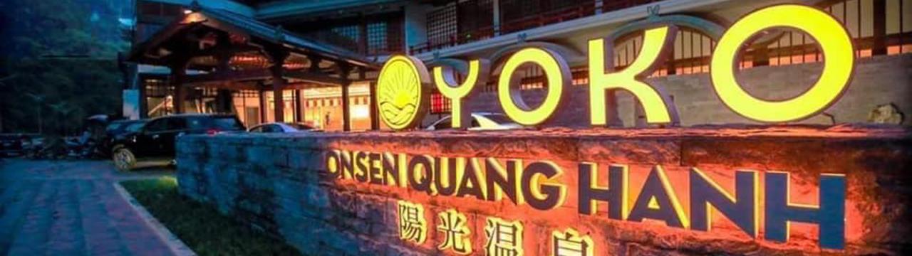 Vé tắm khoáng nóng Yoko Onsen Quang Hanh