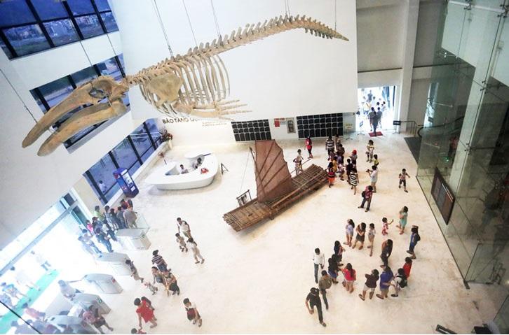 tầng 1 bảo tàng quảng ninh