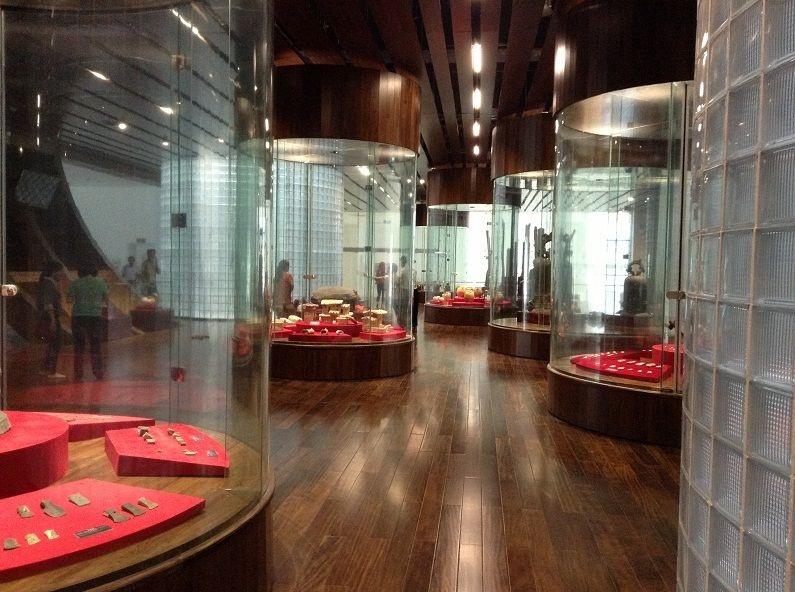 tầng 2 bảo tàng quảng ninh