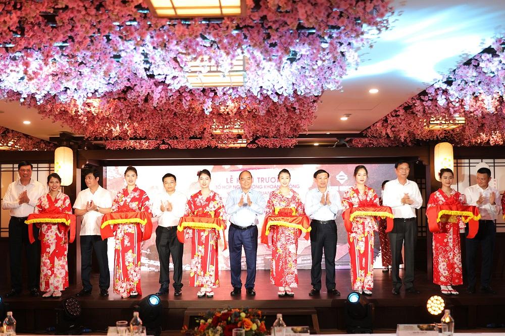 thủ tướng nguyễn xuân phúc khánh thành dự án yoko onsen