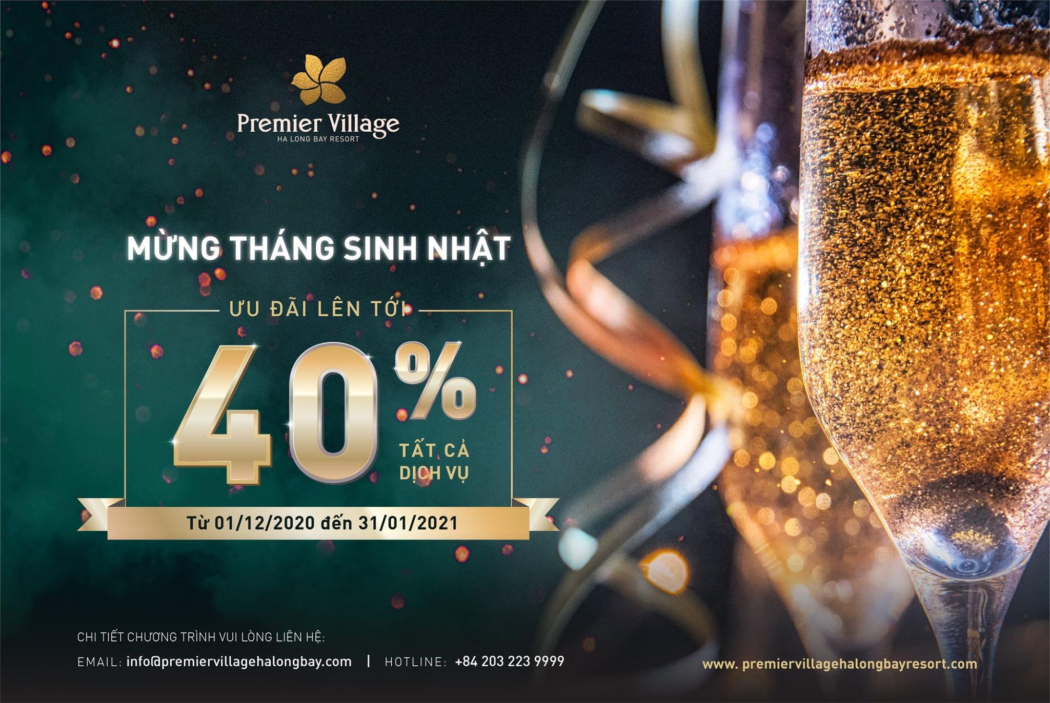 Mừng sinh nhật Premier Village Hạ Long Bay Resort
