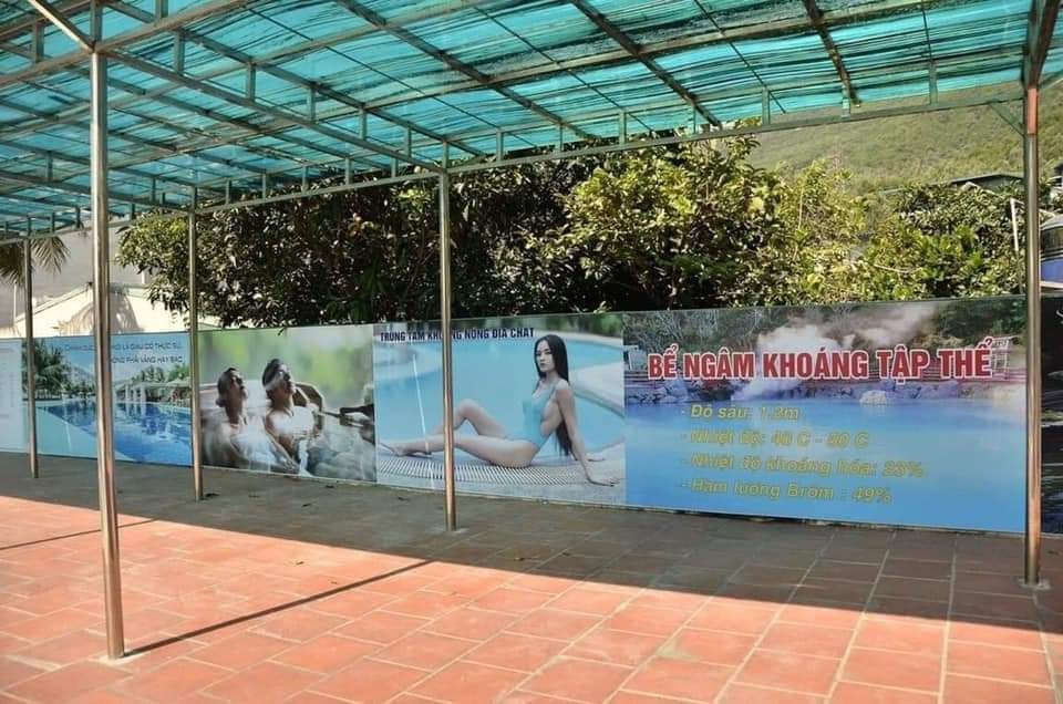 tắm khoáng nóng km4 Cẩm Phả